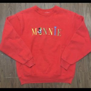 🔥 Vintage Minnie Mouse Sweater